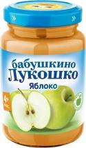 """Пюре """"Яблоко"""" с 4 мес. 200 гр., Бабушкино лукошко"""