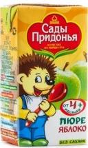 Пюре Сады Придонья Яблоко с 4 мес 125 г