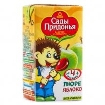 """Пюре """"Яблоко"""" с 4 мес., 125 мл., Сады Придонья"""