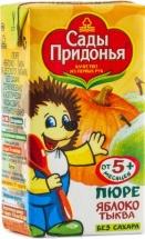 Пюре Сады Придонья Яблоко-Тыква с 5 мес 125 г