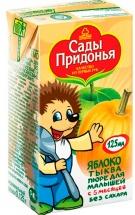 """Пюре """"Яблоко-тыква"""" с 5 мес., 125 мл., Сады Придонья"""