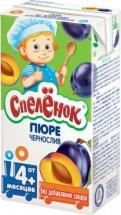"""Пюре """"Чернослив"""" с 4 мес., 125 мл, Спеленок"""