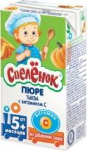 "Пюре ""Тыква"" с витамином С, с 5 мес., 125мл, Спеленок"