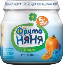 """Пюре """"Тыква"""", с 5 мес., 80 гр., ФрутоНяня"""