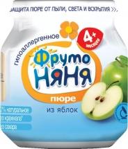 """Пюре """"Яблоко"""", с 4 мес., 100 гр., Фрутоняня"""