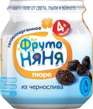 Пюре Фрутоняня Чернослив с 4 мес 100 г
