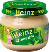 "Пюре ""Брокколи"", с 4 мес., 80гр., Heinz"