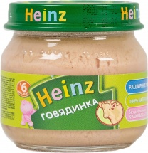 Пюре Heinz Говядина с 6 мес 80 г