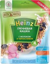 Каша Heinz молочная гречневая с черносливом с 4 мес 250 г