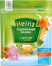 Каша Heinz молочная пшеничная с тыквой с 5 мес 250 г