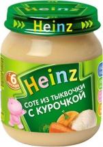 """Пюре """"Тыква с курочкой"""", с 6 мес., 120гр., Heinz"""