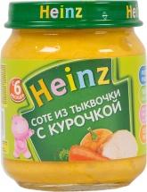 Пюре Heinz Тыква-Курочка с 6 мес 120 г