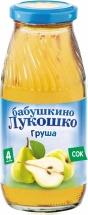 """Сок """"Груша осветленный"""" с 4 мес., 200 мл., Бабушкино лукошко"""