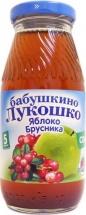 """Сок """"Яблоко и брусника осветленный"""" с 5 месяцев 200 мл., Бабушкино лукошко"""
