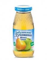 """Сок """"Яблоко и груша осветленный"""" с 5 месяцев 200 мл., Бабушкино лукошко"""