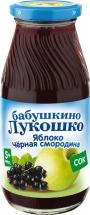 Сок Бабушкино лукошко Яблоко-Черная смородина осветленный с 5 мес 200 мл