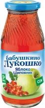 Сок Бабушкино лукошко Яблоко-Шиповник осветленный с 5 мес 200 мл