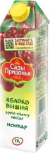 """Нектар """"Яблоко-вишня"""", с 3 лет, 1 л, Сады Придонья"""