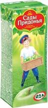 Сок Сады Придонья Зеленое яблоко осветленный с 4 мес 200 мл