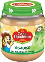 Пюре Сады Придонья Яблоко с 4 мес 120 г