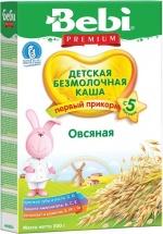 Каша овсяная безмолочная, с 5 мес., 200 гр., Bebi
