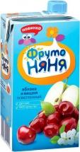 Сок Фрутоняня Яблоко-Вишня осветленный с 5 мес 500 мл