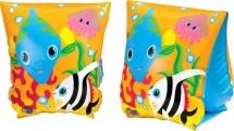 Нарукавники Intex Рыбки 23х15 см 3-6 лет