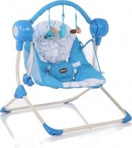 Электрокачели Baby Care Balancelle Blue с пультом ДУ