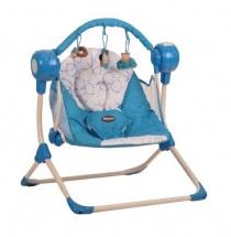 """Электрокачели """"Balancelle"""", голубой, Baby Care"""