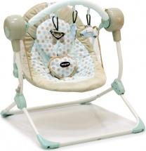 Электрокачели Baby Care Balancelle Cream с пультом ДУ