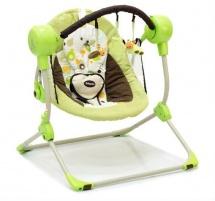 "Электрокачели ""Balancelle"" зеленый, Baby Care"