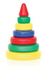 """Пирамидка Класата """"Классика"""" 6 колец"""