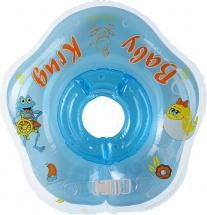 Круг на шею Baby Krug 3D синий 6-18 кг
