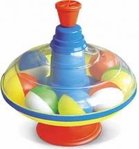 Юла Стеллар большая с шариками