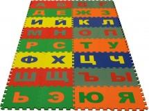 Коврик-пазл Eco cover Русский Алфавит 25х25см 32 дет