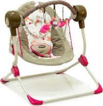 Электрокачели Baby Care Balancelle Pink с пультом ДУ