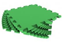 Мягкий пол универсальный, 33x33 см., 9 дет., зеленый, Pol-par