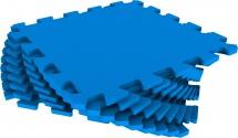 Мягкий пол универсальный Pol-par 33x33 см 9 дет, синий