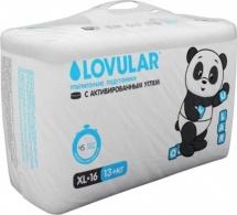 Подгузники Lovular XL (13-20 кг) 16 шт