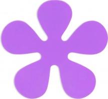"Мини-коврик Valiant ""Цветок"", фиолетовый"