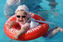 Круг Swimtrainer Classic 6-18 кг, красный