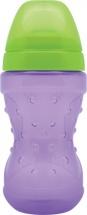 """Поильник Lubby """"Спорт"""" с мягким носиком 230 мл, фиолетовый"""