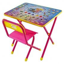 """Набор мебели №1 """"Электроник"""", розовый, Дэми"""