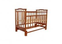 "Кроватка ""Золушка-3"", 120х60, маятник, вишня, Агат"