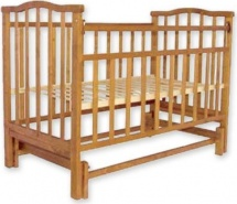 Кроватка Агат Золушка-3 маятник, орех