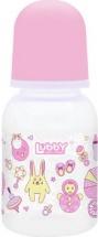 Бутылочка Lubby Малыши и Малышки Зайчик 125 мл