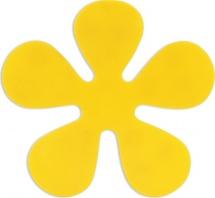 """Мини-коврик Valiant """"Цветок"""", желтый"""