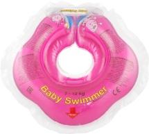 Круг на шею Baby Swimmer розовый (полуцвет) 3-12 кг