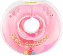 "Круг на шею Baby Swimmer ""Флора"" Розовый бутон 6-36 кг"
