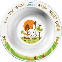 Avent Тарелка малая глубокая с 6 мес.